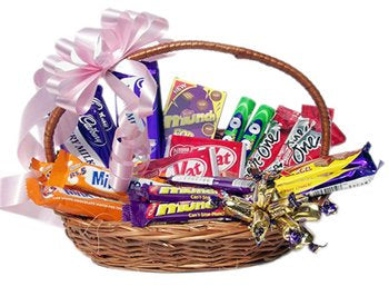 Celebrate a birthday or any other occasion in a unique style with the sweetness of Chocolate Basket Hamper! 