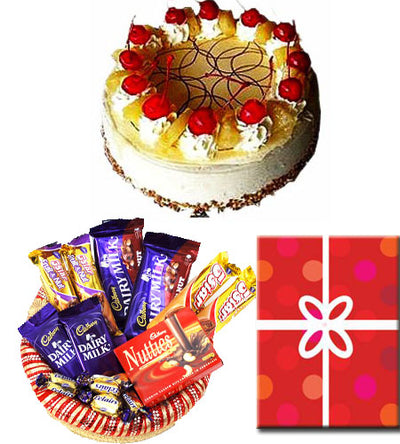 500 gm Pineapple cake