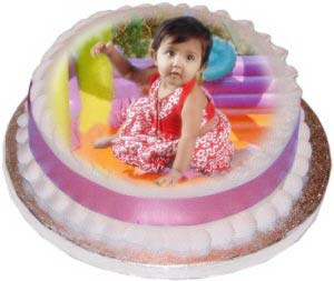 send Personalised Photo Cake.