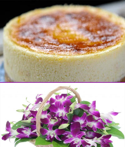 500 gm Delicious cheese cake(The Taj / Radisson blu / JW marriot / Any other equivalent to 5-Star Bakery)