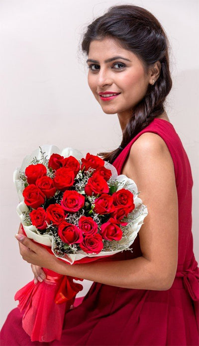 20 Red Roses (Special Packing)