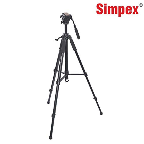 Simpex Tripod VCT 880 Plus with Bag for DSLR Camera