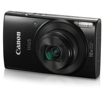 Canon IXUS 190 20 MP Digital Camera with 10x Optical Zoom (Black)
