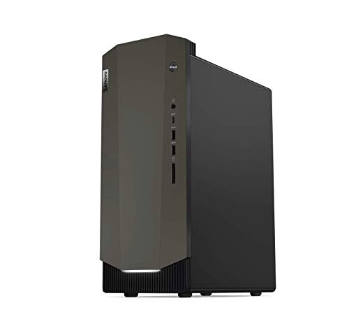 Lenovo IdeaCentre G5 Gaming Desktop (10th Gen Intel Core i7/8GB/1TB HDD + 256GB SSD/Windows 10/NVIDIA RTX 2060 6GB Graphics), Raven Black (90N9004KIN)