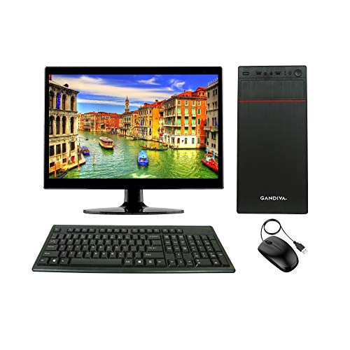 Gandiva® Professional 15.6-inch All-in-One CI3 Desktop (Core I3 1st Gen/4GB/Windows 10(Trial Version)/WiFi) MS Office(Trial Version) & Antivirus(Free Version)