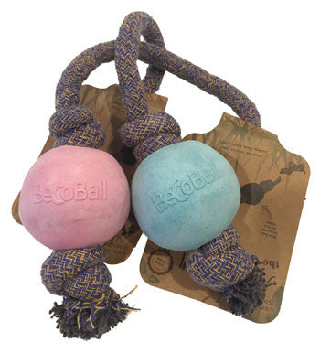 Beco Rope Ball Dog Toy