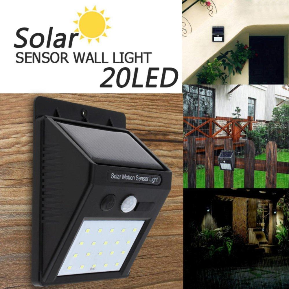 MOTION SENSOR SOLAR WATERPROOF LIGHT 20 LED