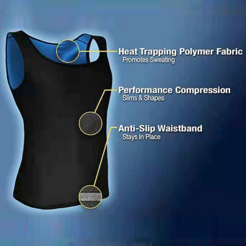 Unisex Sweat Body Shaper Vest for Gym