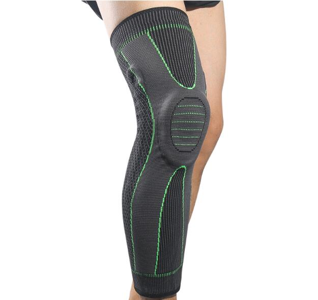 Knee Support Protector Brace witth Silicone Spring