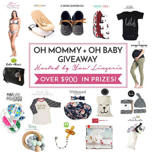 OH MOMMY + OH BABY GIVEAWAY (JUNE)