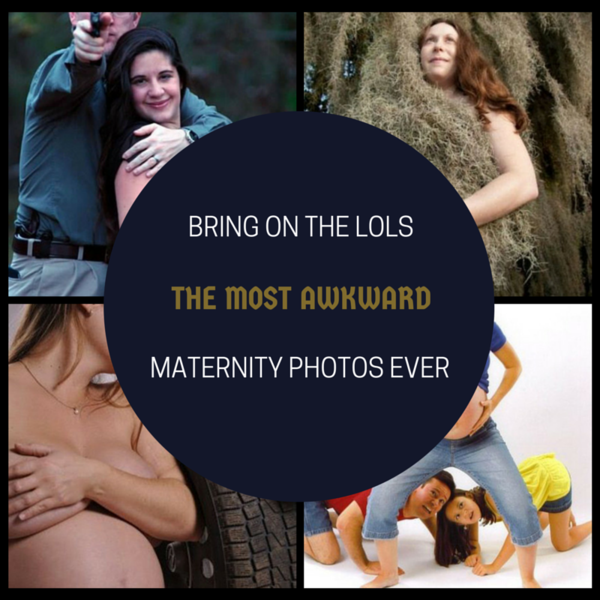 Bring On The LOLs! The Most Awkward Maternity Photos Ever!!!