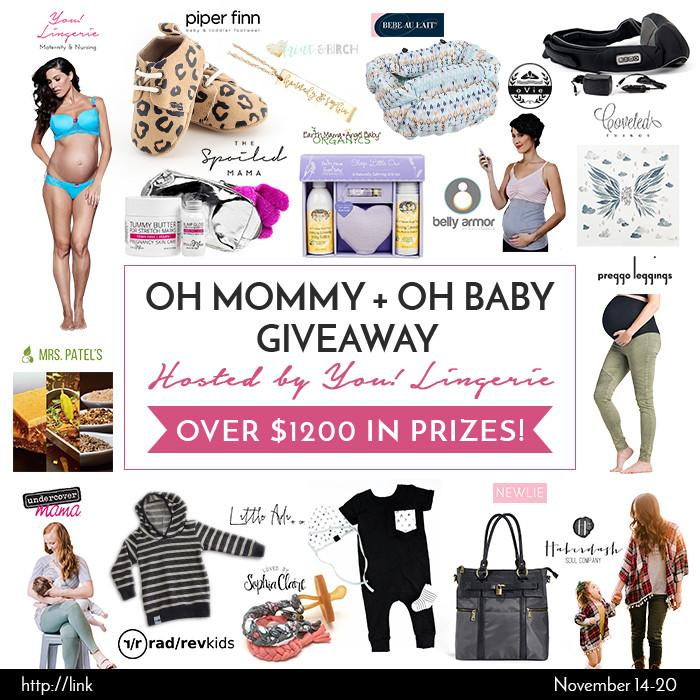 OH MOMMY + OH BABY GIVEAWAY (November)