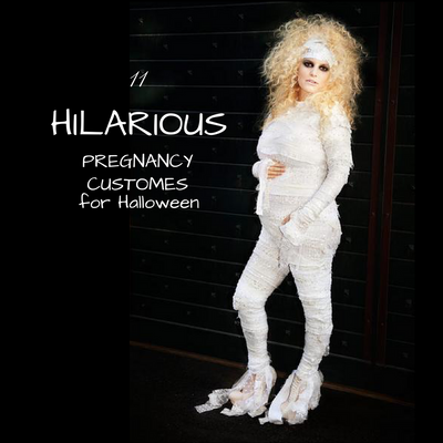 11 Hilarious Pregnancy Costumes For Halloween