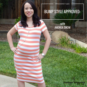 Bump Style Approved: Pregnancy Q&A With Andrea Snow