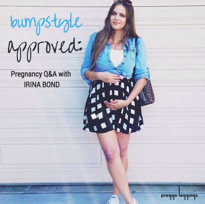 Bump Style Approved: Pregnancy Q&A with Irina Bond