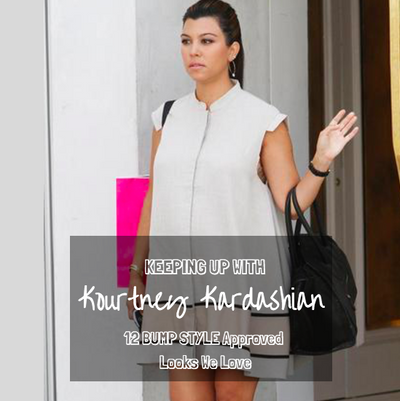 Keeping Up With Kourtney Kardashian: 12 Bump Style Approved Looks We Love