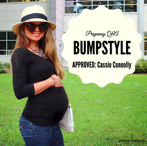 Bump Style Approved: Pregnancy Style Q&A with Cassie Connolly