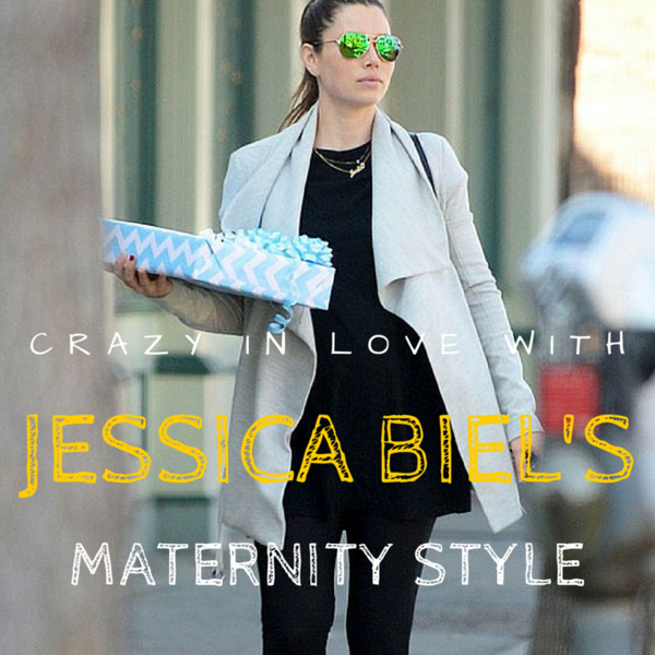 Crazy In Love With Jessica Biel's Maternity Style