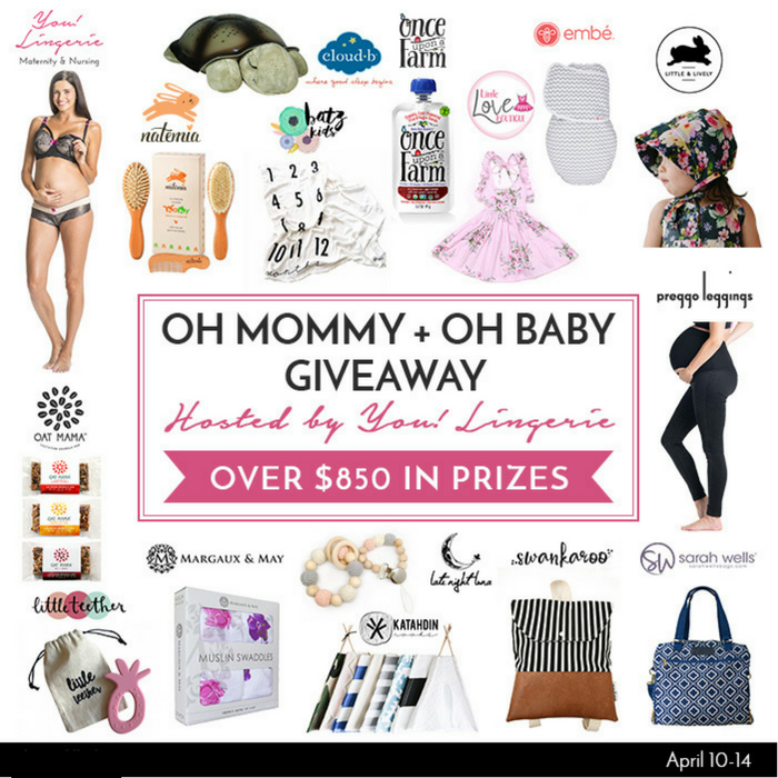 OH MOMMY + OH BABY GIVEAWAY (APRIL)