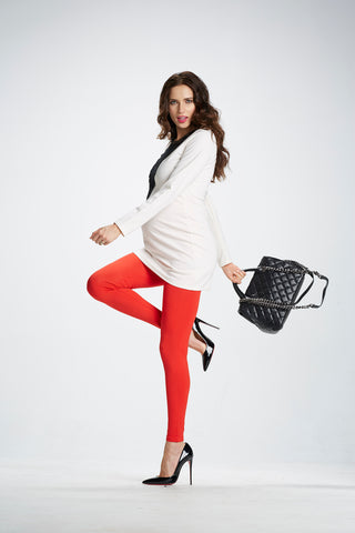 perfect maternity leggings for Valentine's
