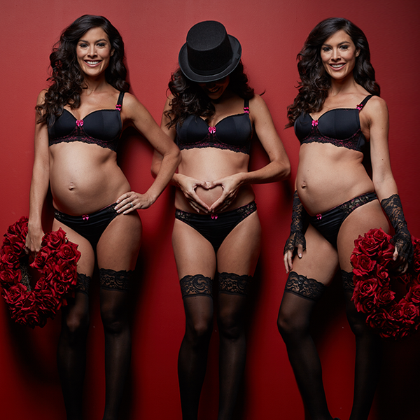 Pregnant or not, women love to feel beautiful and sexy. Ignite the spark  with one of our irresistible nursing bra and panty sets. You might as well  get two, ...