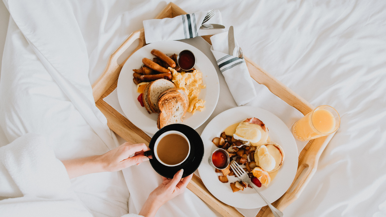 Mother's Day Gift - Breakfast in Bed