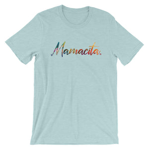 Ice Blue Mamacita Multicolor Print T-Shirt