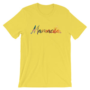 Yellow Mamacita Multicolor Print T-Shirt