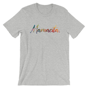 Grey Mamacita Multicolor Print T-Shirt