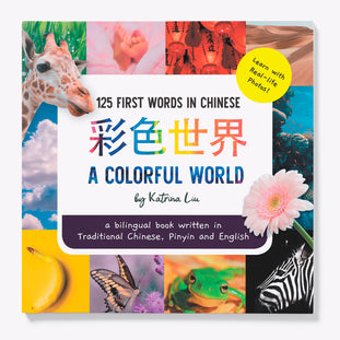 A Colorful World in Traditional Chinese children's book by Katrina Liu