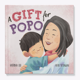 A Gift for Popo in English only children's book by Katrina Liu