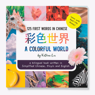 A Colorful World in Simplified Chinese children's book by Katrina Liu