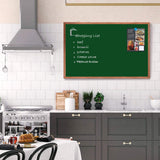 Magnetic Chalk Board Wooden Frame for school, college, home