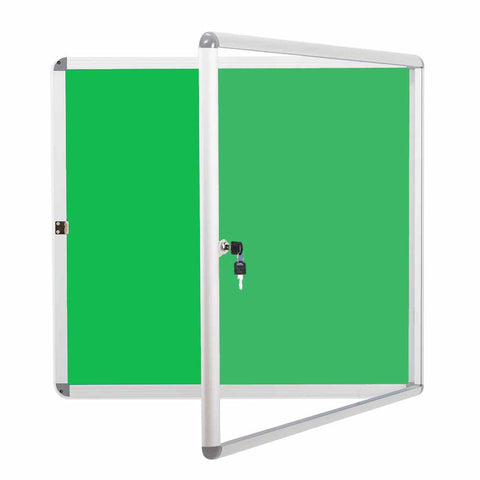 Cover Notice Board, Lockable Noticeboard Bulletin Pin Fabric Boards Tamperproof