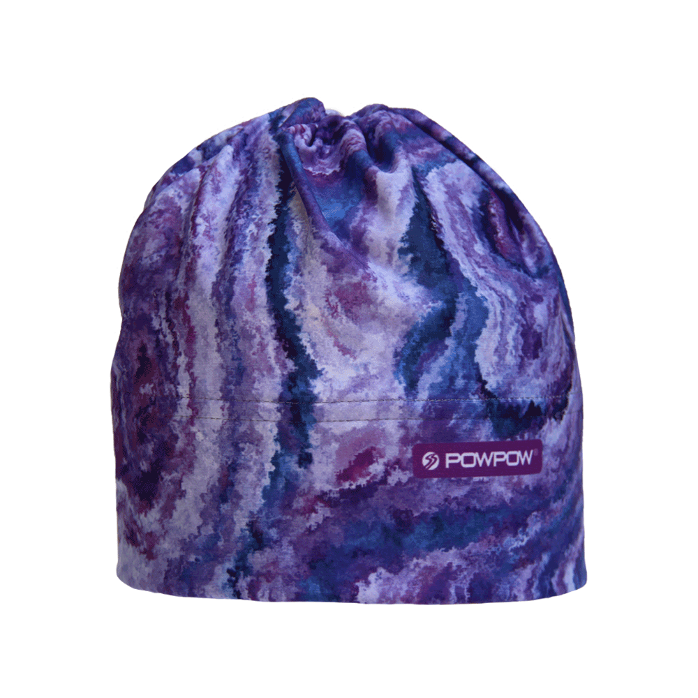 Beanie Hat | Style: Purple Granite