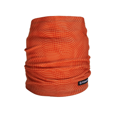 powpow neckie sport scarf orange crush 2