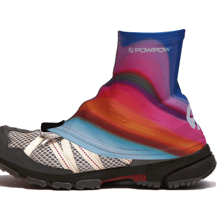 Trail Gaiter Footwear orange blue pink 1