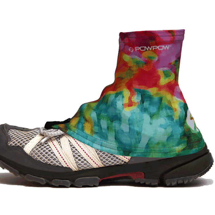 Trail Gaiter Footwear blue red pink 1
