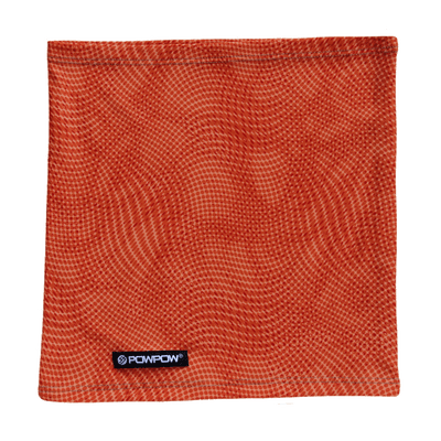 powpow neckie sport scarf orange crush 1