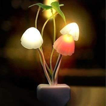 Color Changing LED Mushroom Night Light