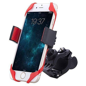 Universal Adjustable Bicycle, Bike Cell Phone Holder Cradle Stand for Motorcycle Handlebar
