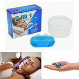 2 in 1 Anti Snoring and Air Purifier Device for Men and Women