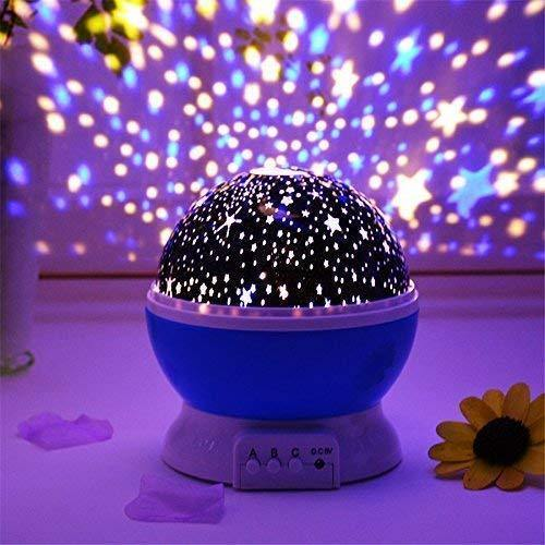 Star Master Projector Night lamp and Rotating 4 Mode Sky Star Master Mini Projector Lamp for Kid's Room Decor