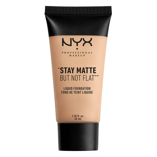 NYX STAY MATTE BUT NOT FLAT LIQUID FOUNDATION - CREAMY NATURAL