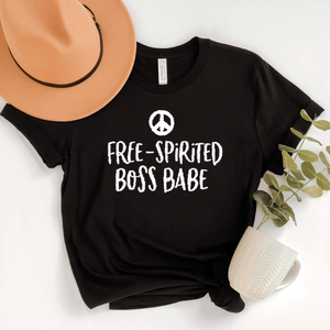 Free Spirited Boss Babe T Shirt