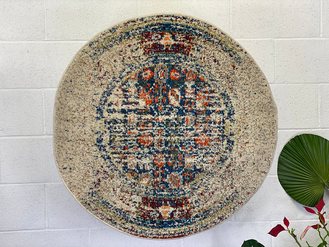 Anatolian Round Carpet 3'x3' Ft