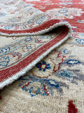 Load image into Gallery viewer, 8.1 x 9.1 Ft Handmade Turkısh Wool Vıntage Carpet Turkish Rug
