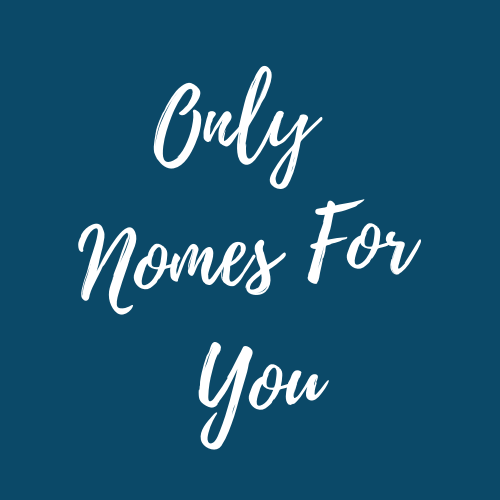 Welcome to Only Nomes For You - Accessible Sustainability For All