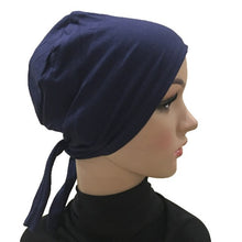 Load image into Gallery viewer, Cotton Under Scarf - Hijabs, Chemo-Caps and Bandanas.