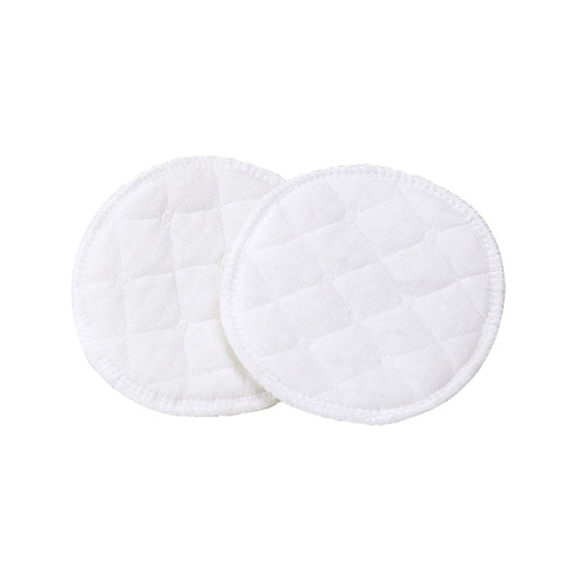 Pack of 10 Bamboo Cotton Reusable Pads Washable